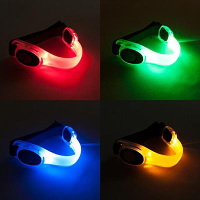 (2個セット) LED アームバンド 4色(赤/青/緑/黄)セーフティバンド