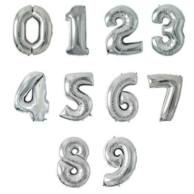 誕生日 バルーン 数字 ナンバーバルーン