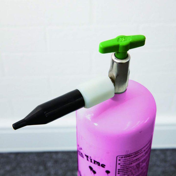 ヘリウムガス バルーン・風船用 使い捨て ヘリウム缶 補充用 (1本(35L))