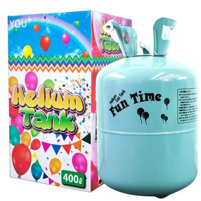 ヘリウムガス バルーン・風船用 使い捨て ヘリウム缶 補充用 (400L)